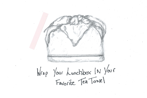Post image for 3 Cute Ways To Pack Your Lunch For Work