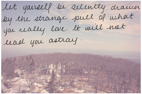 Post image for Monday Quote: Strange Pull