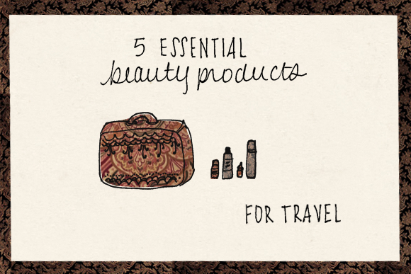 Post image for 5 Essential Beauty Products For Travel