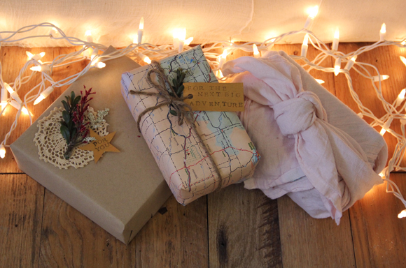 Diy creative ways to gift wrap negle Images