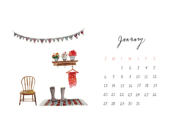 Post image for January Calendar Download