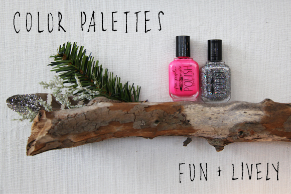 Post image for Holiday Color Palettes For Your Nails