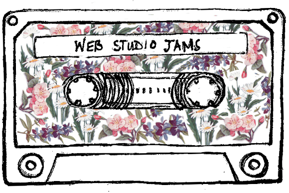 Post image for Playlist: Our Web Studio Jams