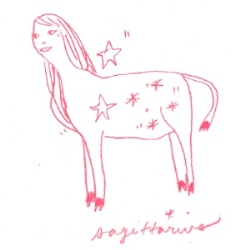 sagittarius star sign illustration