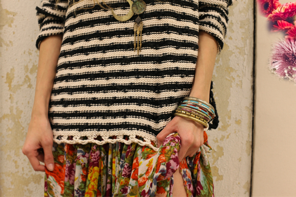 Post image for 60-Second Stylist: Florals & Stripes