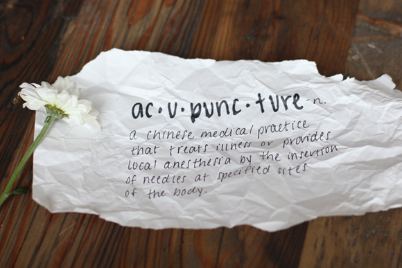 Definition of Acupuncture