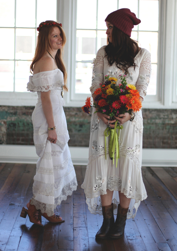 white maxi dress styling