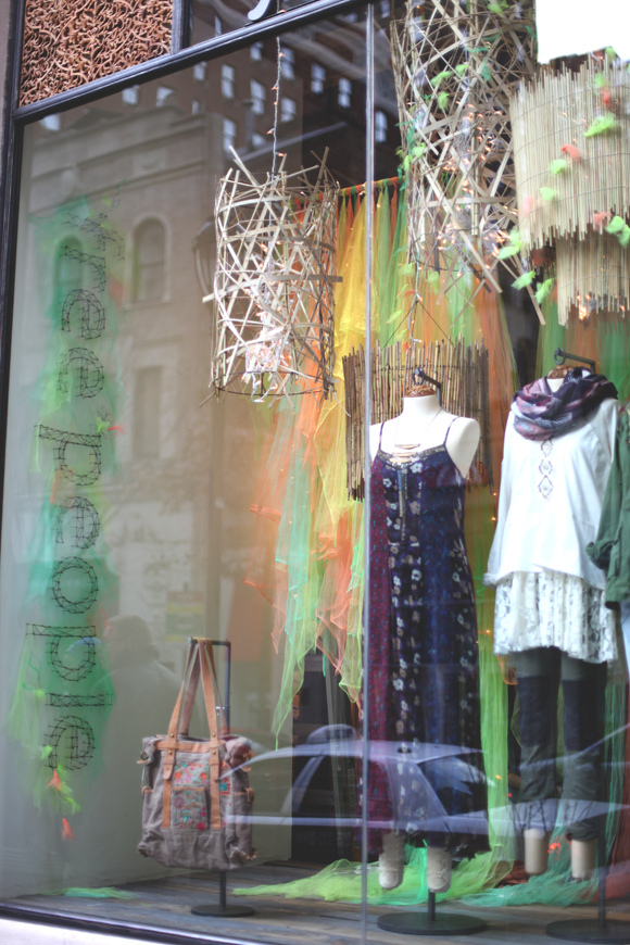 free people store display