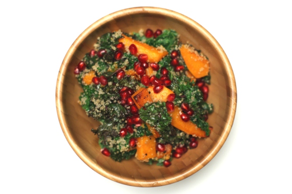 Post image for Post-Holiday Detox: Crispy Kale Salad