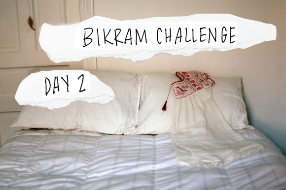Post image for My Bikram Journal Day Two