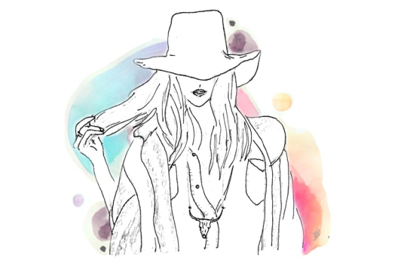 Post image for Current Obsession: Suede Bohemia Hat