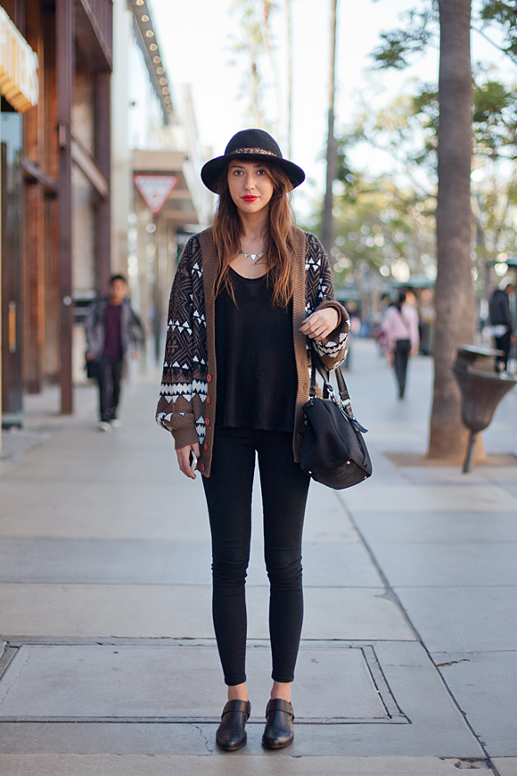 Post image for Shopable Street Style: A Cozy Cardi From Santa Monica