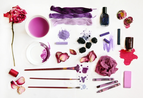 Post image for Color Inspiration: Purple Haze