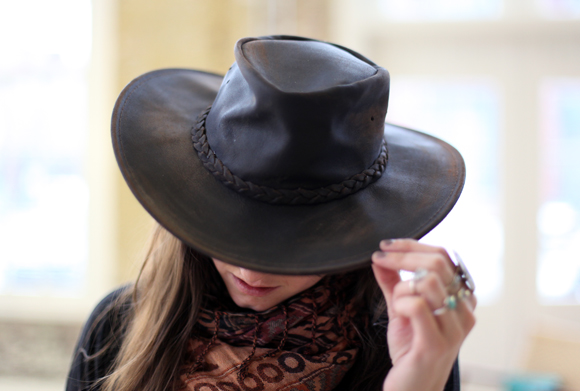 Post image for How To Distress Leather Hats (And Win One!)