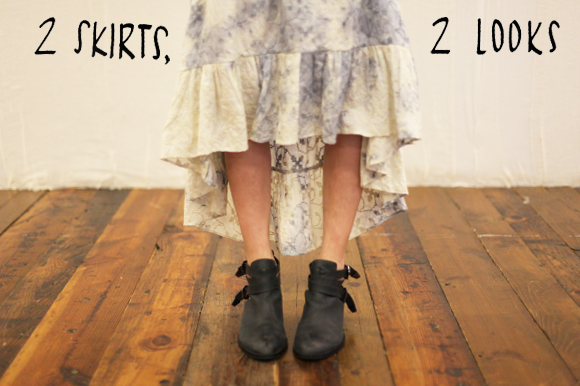 Post image for 60-Second Stylist: 2 Skirts, 2 looks