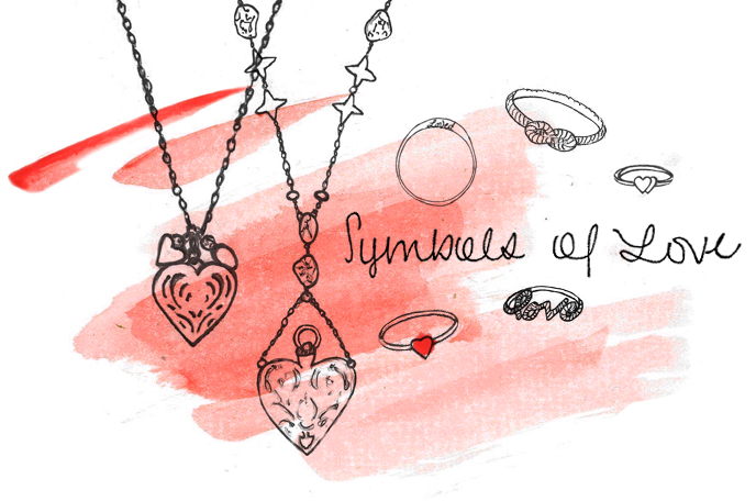 Post image for Current Obsession: Symbols Of Love