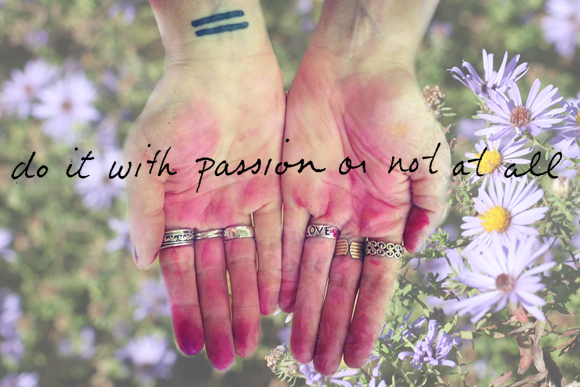 Post image for Monday Quote: Do It With Passion