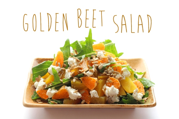 Post image for Recipe: Golden Beet Salad