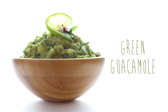 Post image for Recipe: Green Goddess Guacamole