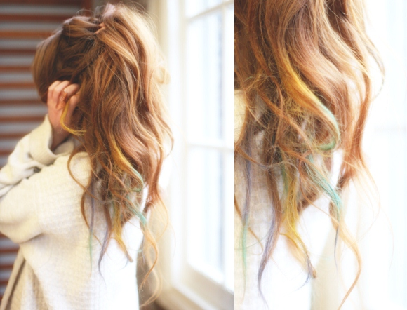 Hair Chalk For Any Hair Color