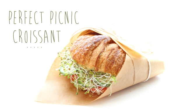 Post image for Perfect Picnic Recipes: Croissant Sandwich