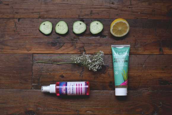 Cucumber aloe face mist ingredients