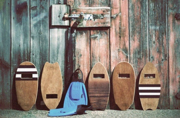 vintage body surfing boards