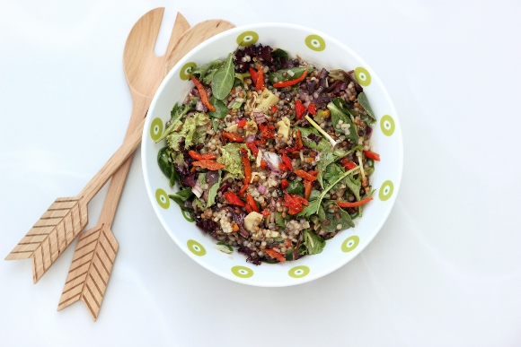 Post image for Recipe: Mediterranean Lentil and Couscous Salad