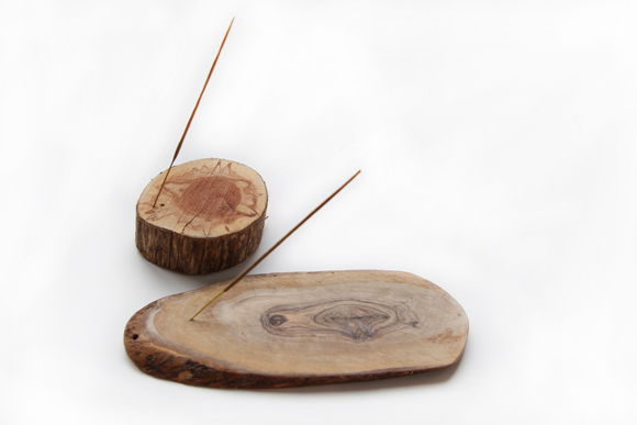 DIY Wooden Incense Holders