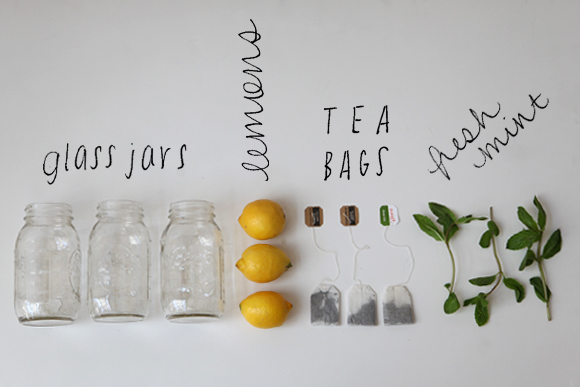 Sun tea ingredients