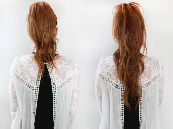 Post image for Easy Hair Trick: Super Long Ponytail