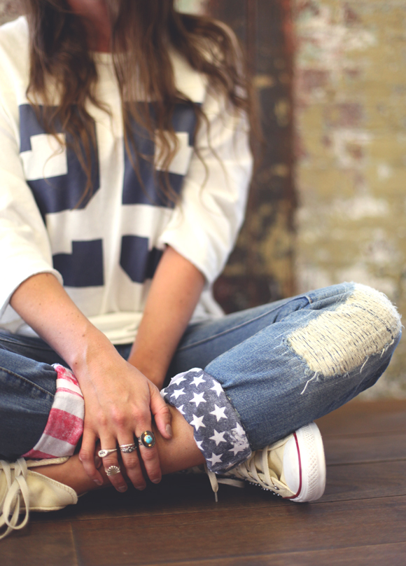 Post image for DIY American Flag Cuffs