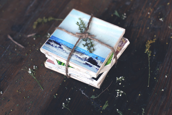 Post image for DIY Reversible Instagram Coasters