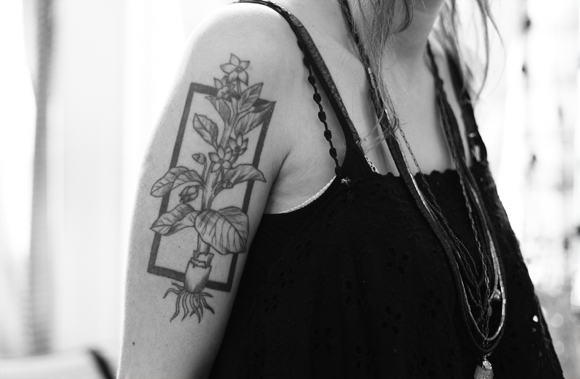geometric tattoo inspiration