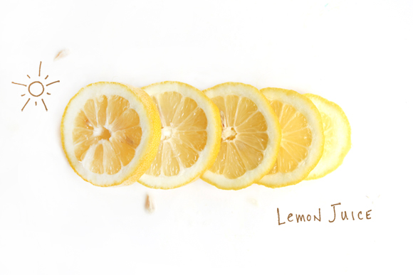 lemon juice to lighten hair