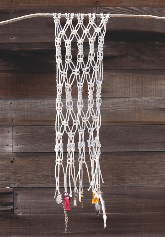 How To Macrame And Create A Wall Hanging