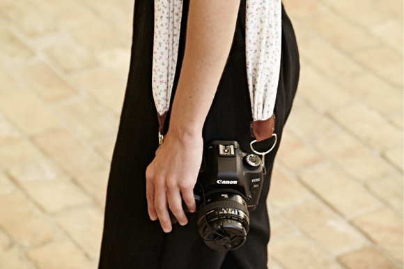 Post image for DIY: Camera Strap For Summer