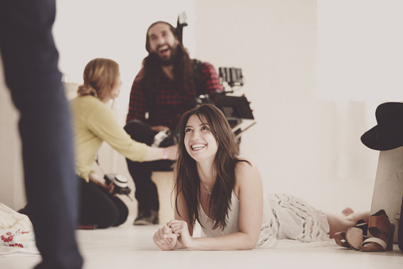 daisy lowe neighbor behind the scenes