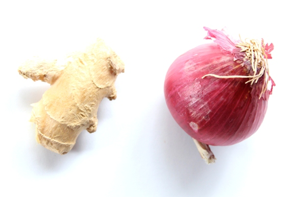 onion and ginger