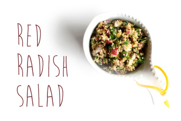 Post image for 5-Minute Meals: Red Radish Salad