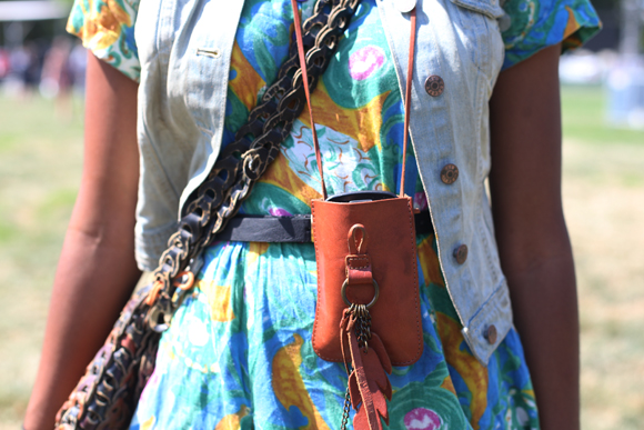 Fashion details at Pitchfork
