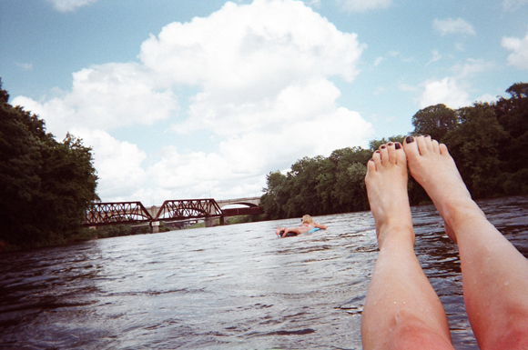 Post image for Adventure #1: Tubing Down A River