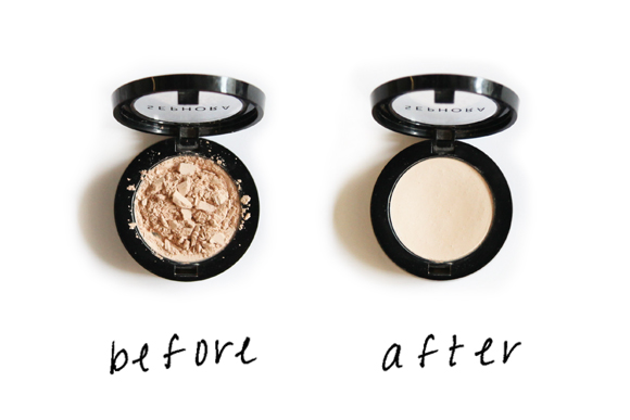 Post image for Beauty Trick: Broken Eye Shadow Quick Fix