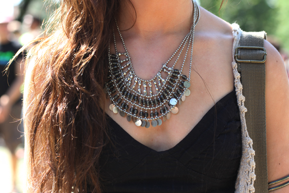 Free People necklace Pitchfork