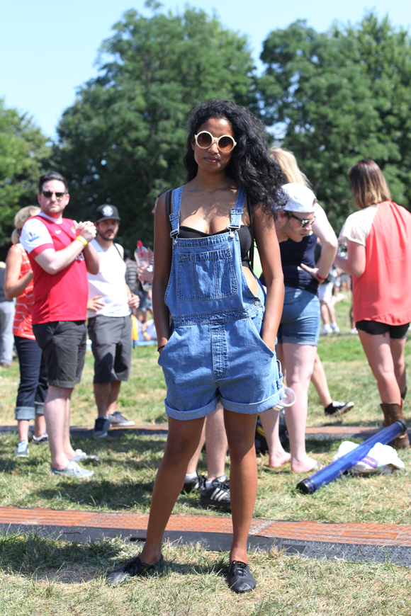 Overalls at Pitchfork
