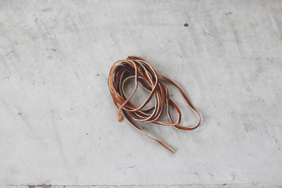 Suede cord