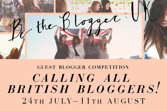 Post image for Guest Blogger Competition: Be The UK Blogger!