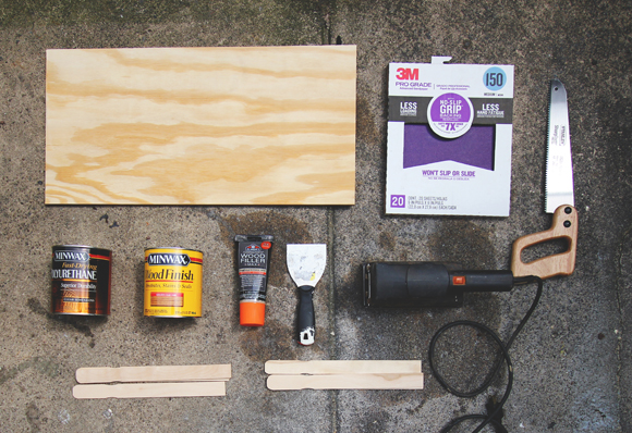 diy paint stick countertop