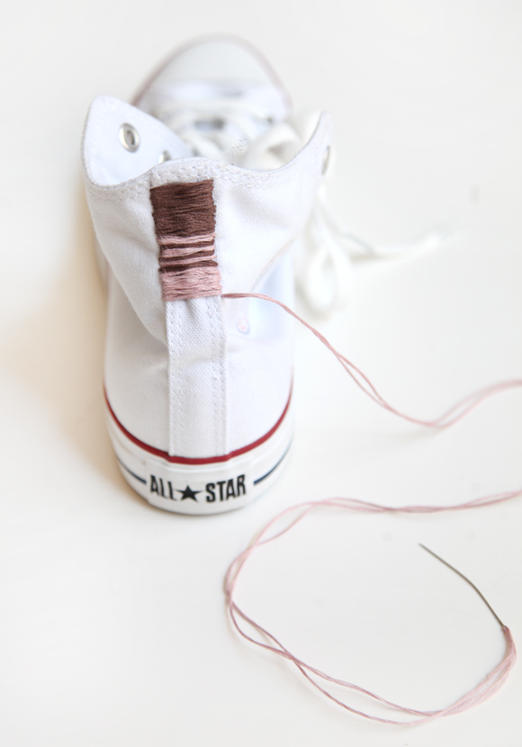 embroidered chucks, free people blog