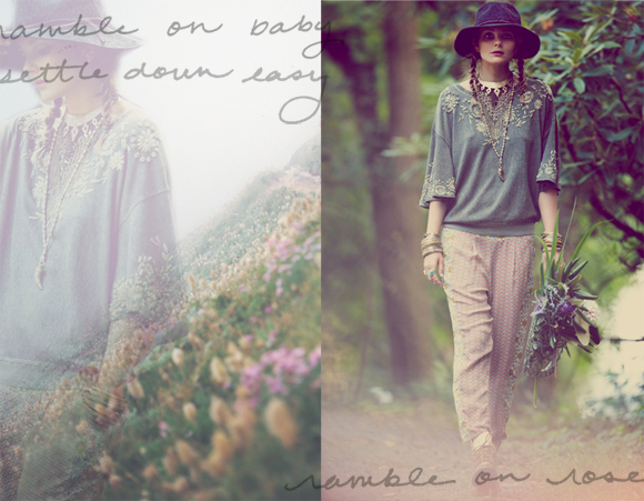 rambling rose lookbook